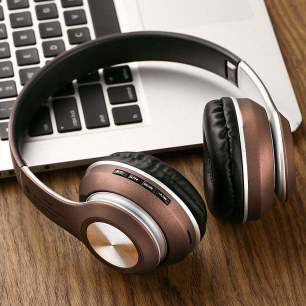 Wireless Bluetooth Over Ear Stereo Foldable Headphones Wired Headsets With Built In Microphone For Iphone Samsung Lg Ipad Active Noise Cancelling For Pc Travel Walmart Com Walmart Com