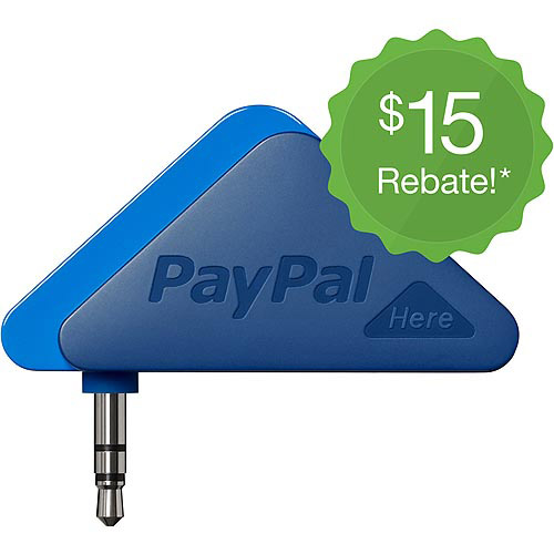 PAYPAL 4027 PAYPAL HERE MOBILE CARD READER