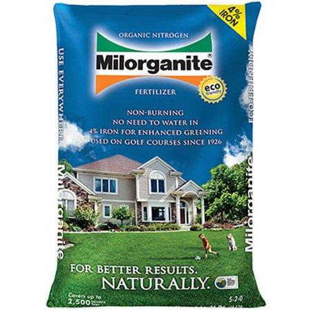 - 0636 Organic Nitrogen Fertilizer, 36-Pound, An organic nitrogen fertilizer composed primarily of heat dried microbes By Milorganite
