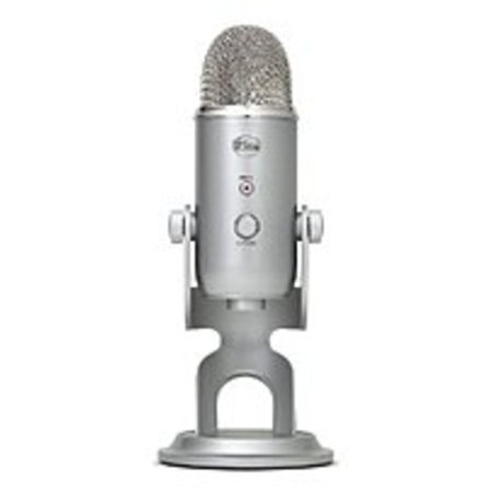 Logitech Blue Microphone - Yeti Silver