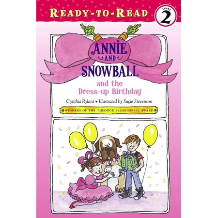 Cool Book Characters To Dress Up As (Annie and Snowball and the Dress-up)
