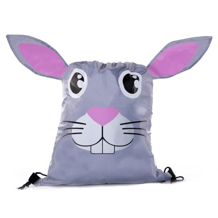 Party Favor Bags for Kids Animal Drawstring Backpacks, Goodie Bags for Birthday Parties