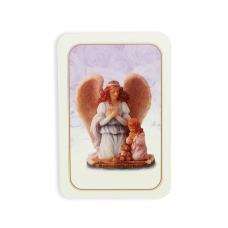 """Club Pack Of 25 Seraphim Classics """"Why God Made Little Girls"""" Prayer Cards #81581"""