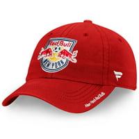 New York Red Bulls Fanatics Branded Women's Fundamental Adjustable Hat - Red - OSFA