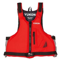 Yukon 13004-16-A-DR Base Paddle Vest, Deep Red - Adult