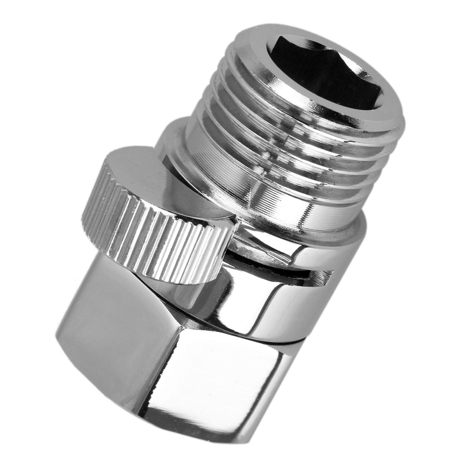 "G1//2/"" Full Brass Flow Quick Control Shut-OFF Valve Shower Head Hand Water Saver"