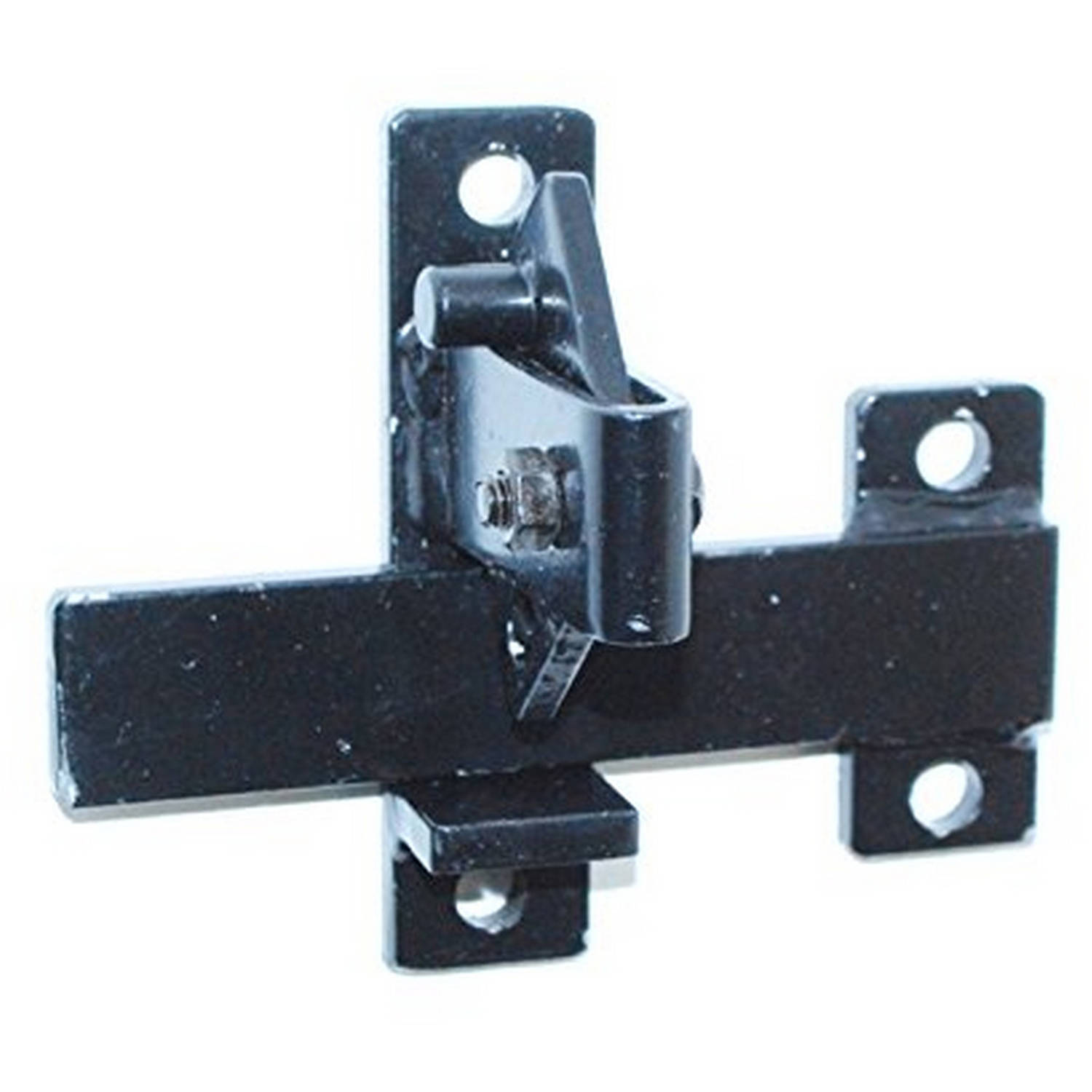Door Flip Latch aleko lm191 universal gate door flip latch - walmart
