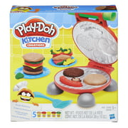Play-Doh Kitchen Creations Burger Barbecue Food Set with 5 Cans