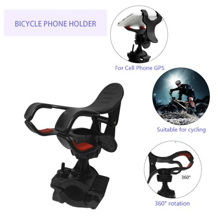 HC-TOP Motorcycle Bicycle MTB Bike Handlebar Mount Holder Universal For CellPhone GPS - image 2 of 4