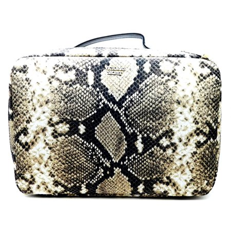newest c05e8 14270 Victoria's Secret The Four Piece Travel Case Snake Print with Zippers