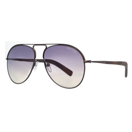Tom Ford Cody TF 448 48Z Brown/Purple Gradient Women's Aviator Sunglasses