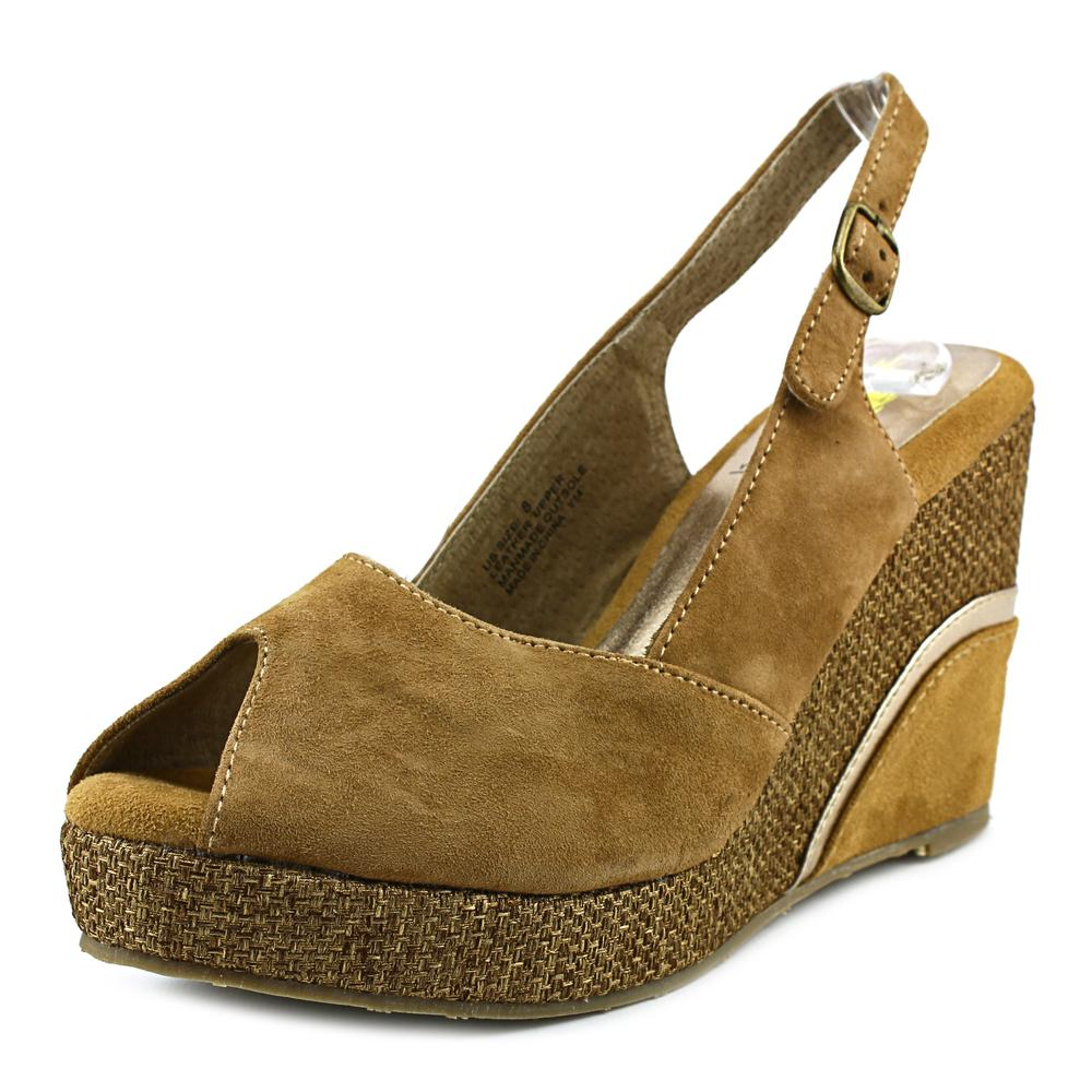 Volatile Highland Women  Open Toe Suede  Wedge Sandal