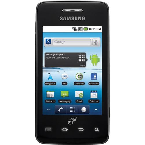 "Samsung Galaxy Precedent - SCH-M828C - Android smartphone - 3G microSD slot - CDMA - 3.2"" - 320 x 480 pixels - 2 MP - Android - Straight Talk - cool gray"