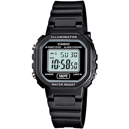 Casio Ladies' Digital Casual Watch, Resin Band