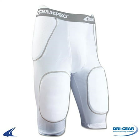 Champro Dri Gear Football - Champro Rush Youth 5-Pad  Football Girdle