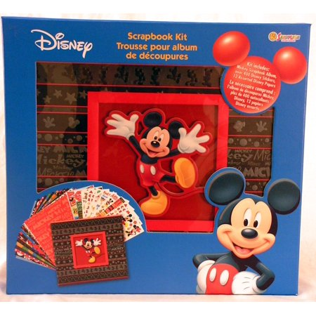 "Disney Mickey Mouse Scrapbook Kit 13""x13"""