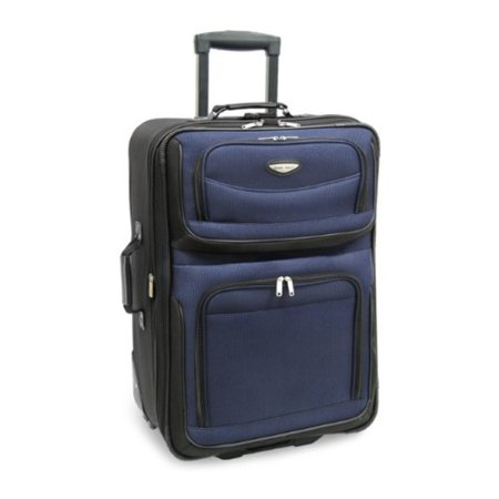 Travel Select Amsterdam Expandable Rolling Upright Luggage, Navy