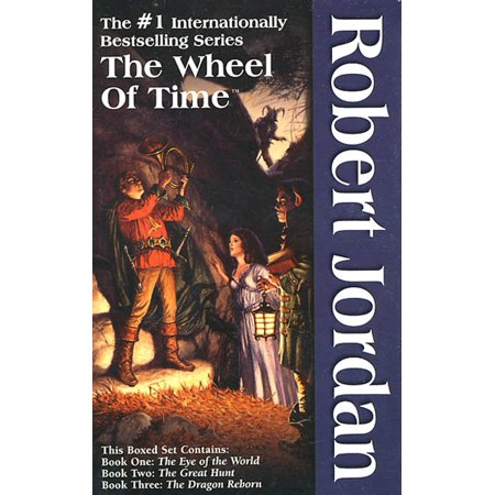 - The Wheel of Time, Boxed Set I, Books 1-3 : The Eye of the World, The Great Hunt, The Dragon Reborn
