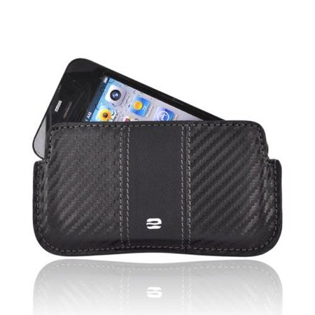 Iphone 3g Holster - Made for Apple iPhone 3G 3GS 4 Horizontal Soft Case Holster Pouch w/ Removable Clip and ID Slots - Black (PUT) by Puregear