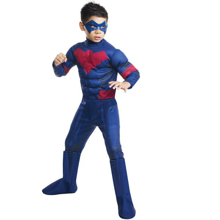 Nightwing Deluxe Costume for Kids](Nightwing Costume For Men)
