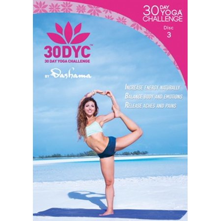Dashama Konah Gordon: 30 Day Yoga Challenge Disc 3 (DVD)
