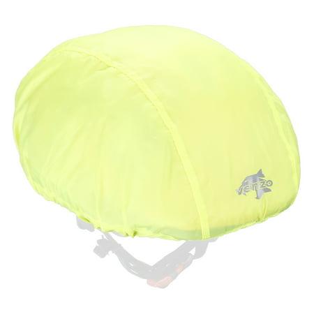 Bike Helmet Cover (VENZO 70D Nylon Bike Bicycle Helmet  Waterproof Cover with Reflective)