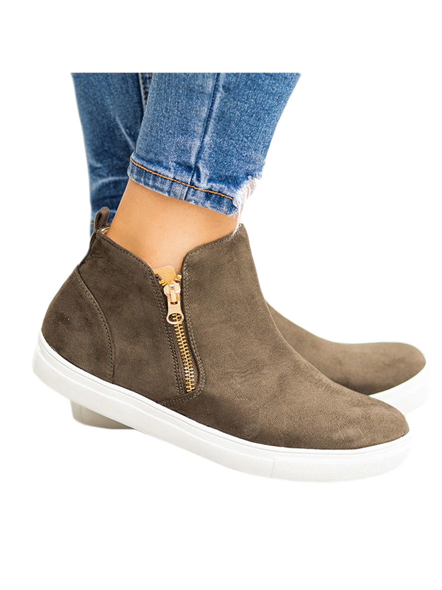 Ankle Boots Low Top Pointed Shoes