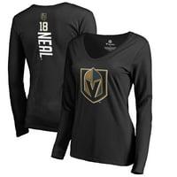 James Neal Vegas Golden Knights Fanatics Branded Women's Backer Name & Number Long Sleeve T-Shirt - Black