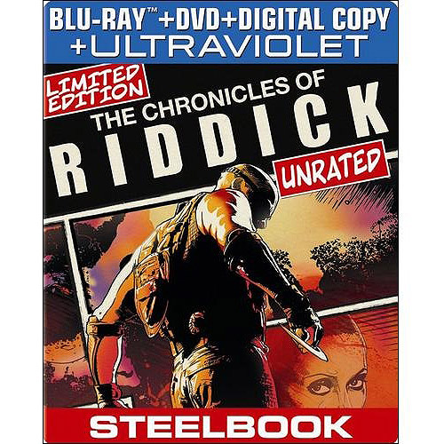 The Chronicles Of Riddick (Blu-ray + DVD + Digital Copy) (Widescreen)