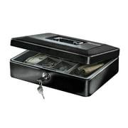 SentrySafe CB-12 Cash Box With Money Tray, .21 cu ft