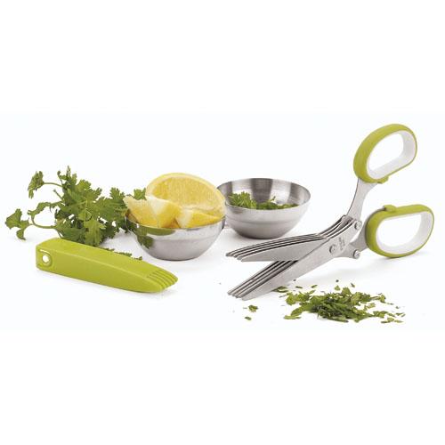 Paderno World Cuisine Herb Scissors, 5 Blades by Paderno World Cuisine