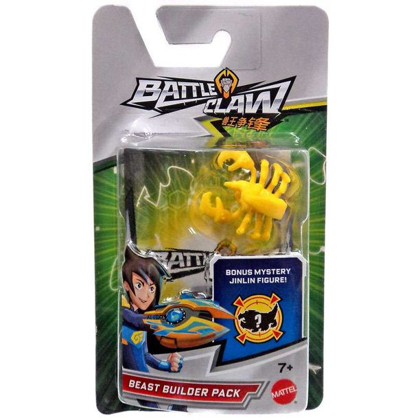 Battle Claw Yellow Scorpion Beast Builder Pack