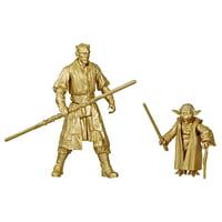 Star Wars Skywalker Saga 3.75-inch Scale Darth Maul and Yoda 2-Pack