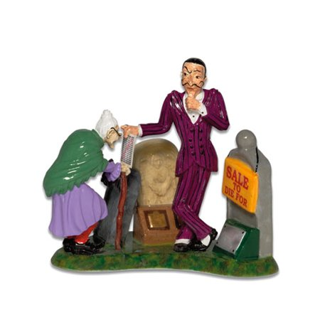 Department 56 Snow Village Halloween 56.54711 How About Our Lay-Away Plan? Accessory (No Halloween Plans)