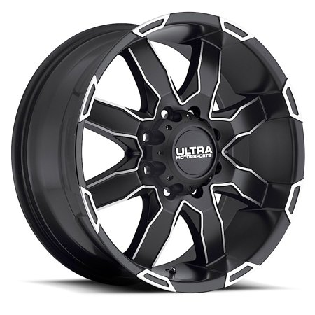 Ultra Phantom 225U Wheel Rim 18x9 5x150 +25mm Satin Black Diamond Cut 5 X 150 Rims