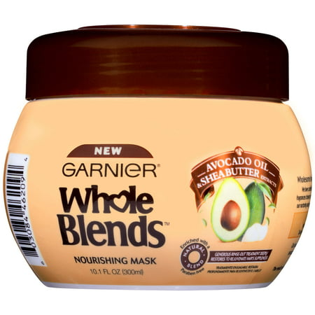 Garnier Whole Blends Hair Mask with Avocado Oil & Shea Butter Extracts 10.1 FL OZ