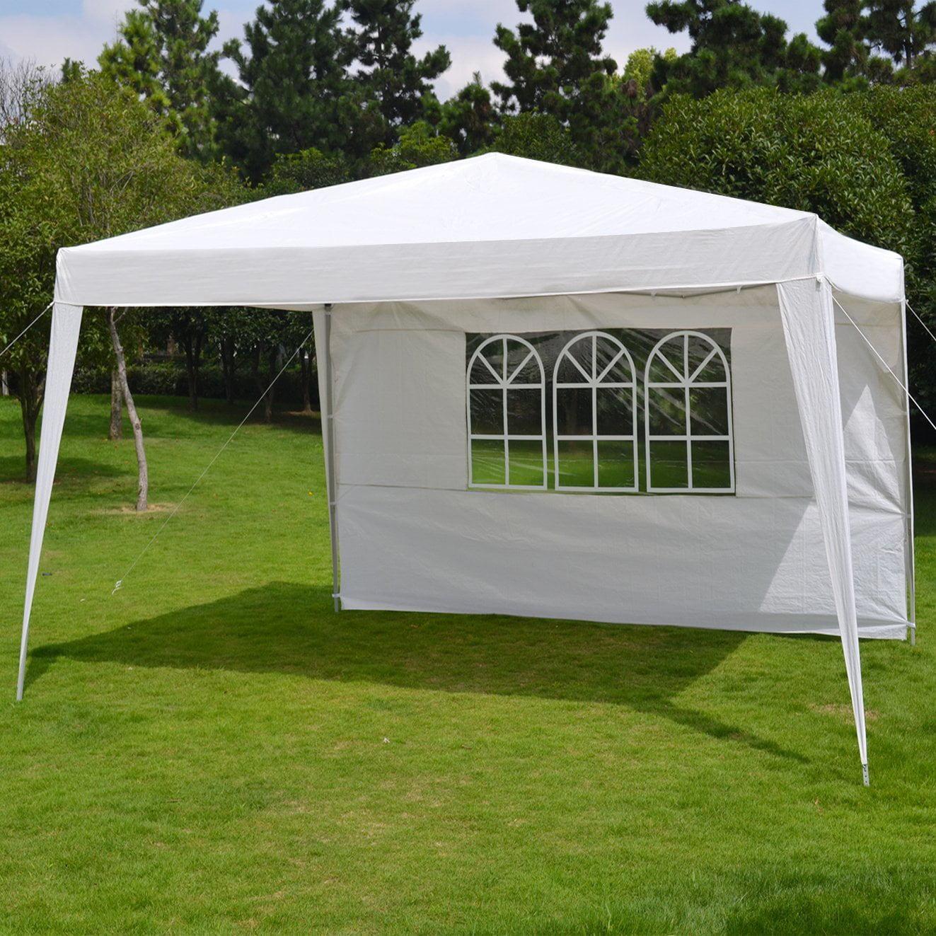 10'X13'EZ POP UP Folding Gazebo Camping Canopy W/Carry Bag Wedding