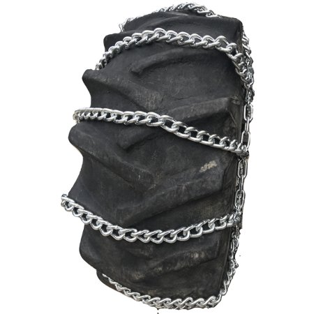 Snow Chains 14.00-25, 14.00 25 Loader Grader Tire Chains set of 2 - image 2 of 2