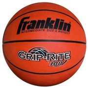 Franklin Sports Grip Rite 100 Rubber Basketball, 29.5 by Franklin Sports