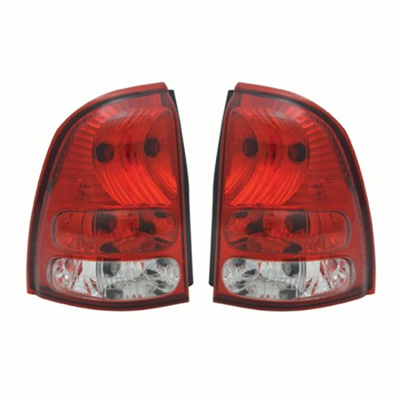 NEW PAIR OF TAIL LIGHTS FIT BUICK RAINIER 2004 2005 2006 2007 15131580 15131581
