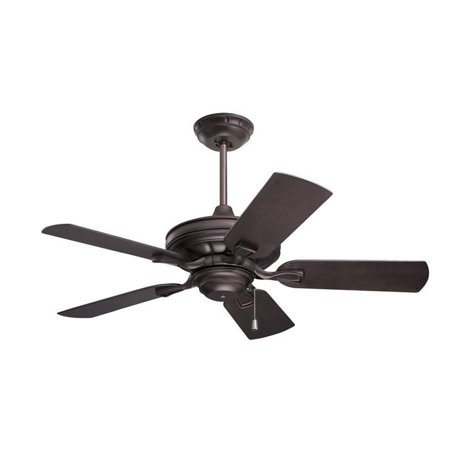 - Emerson 52 Inch Indoor Outdoor 5 Blade Veranda Wet Rated Ceiling Fan, Bronze