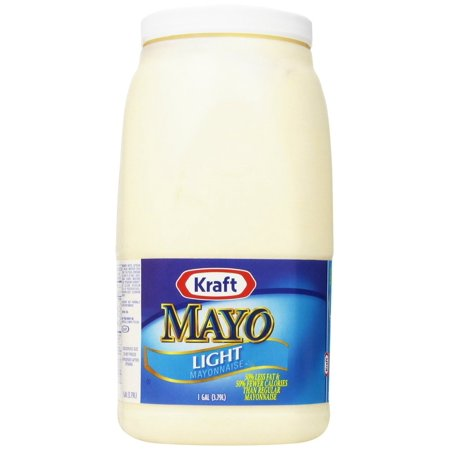4 Packs   Kraft Mayo Light Mayonnaise  128 Ounce
