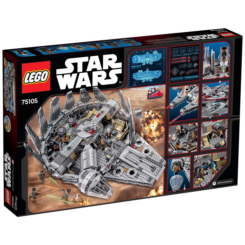 Lego Star Wars Tm Millennium Falcon 75105 Walmart