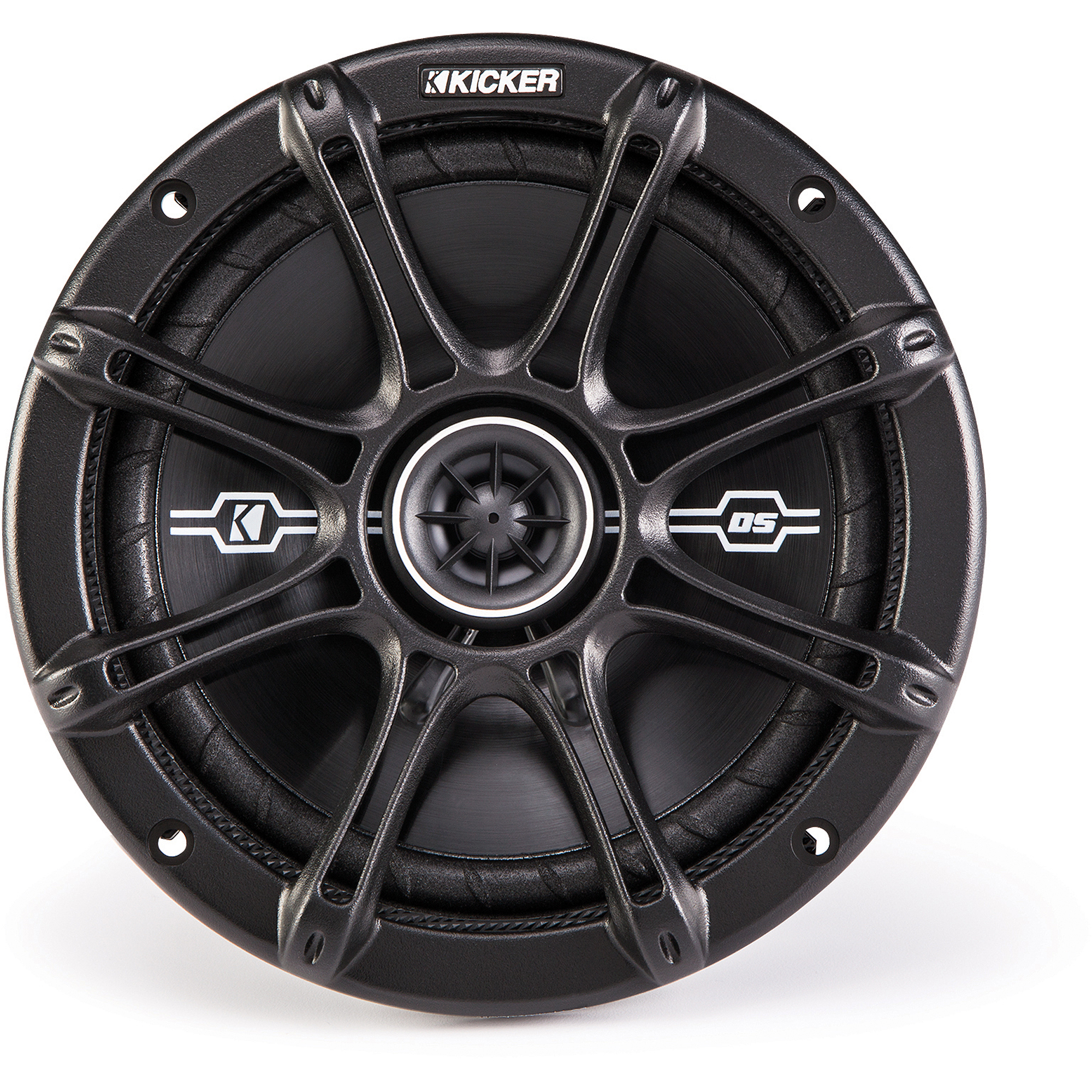 "Kicker DSC67 6.75"" 4-Ohm Coaxial Speakers with 1/2"" Tweeters"