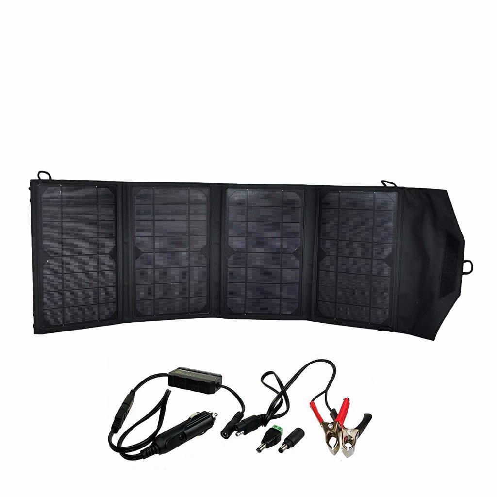 Instapark Mercury27 27-watt Compact Foldable Solar-powere...