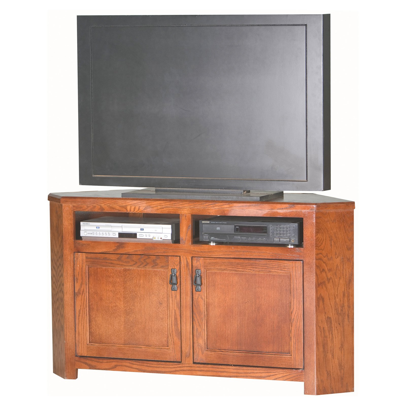 Eagle Furniture Mission 56 in. Corner Entertainment Center