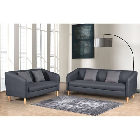 Admirable Us Pride Furniture Helton 2 Piece Reversible Sofa Set Walmart Com Squirreltailoven Fun Painted Chair Ideas Images Squirreltailovenorg