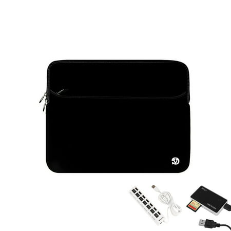 VANGODDY Universal Neoprene Sleeve for 15, 16 inch Laptops + 6 Feet HDMI to HDMI Cable Bundle