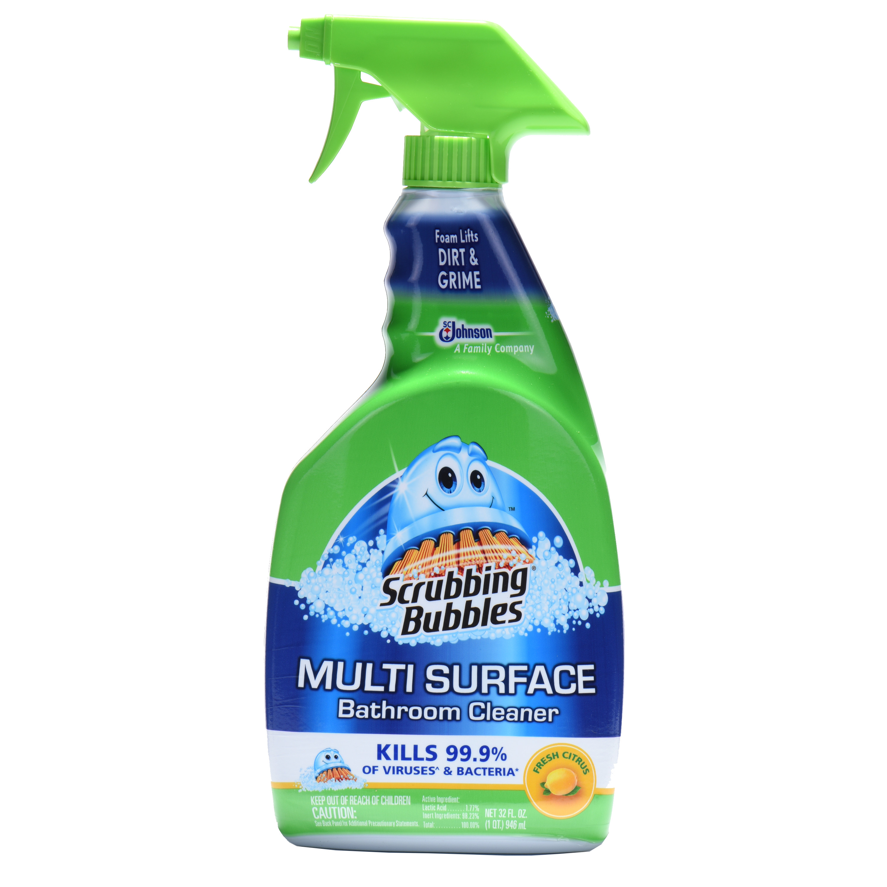 Bathroom Cleaner scrubbing bubbles multi surface bathroom cleaner fresh citrus
