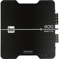 Dual 400W XPE2700 2-Channel Amplifier